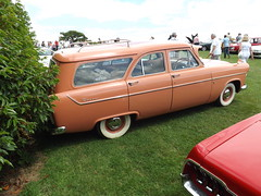 ford ranch wagon(0.0), sedan(0.0), automobile(1.0), automotive exterior(1.0), vehicle(1.0), full-size car(1.0), antique car(1.0), vintage car(1.0), land vehicle(1.0), luxury vehicle(1.0),