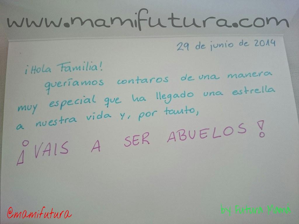 Anuncio oficial para Futuros Abuelos de FP