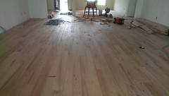 Hand laid oak floors