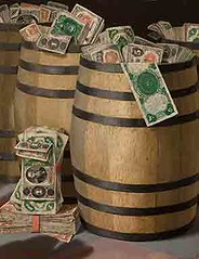 Barrels of Money, Victor Dubreuil
