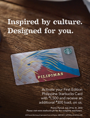 Philippine Starbucks Card Promo