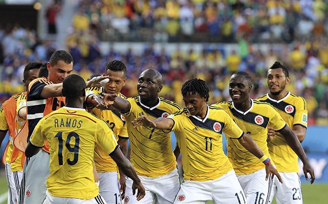 JAPÓN VS. COLOMBIA