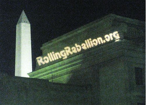 Rolling Rebellion    for a Real Democracy