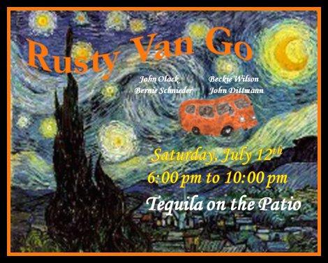 Rusty Van Go 7-12-14