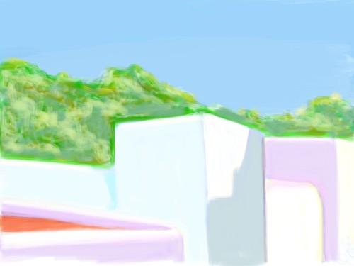 Ibiza - Balcony View. Cala Llonga