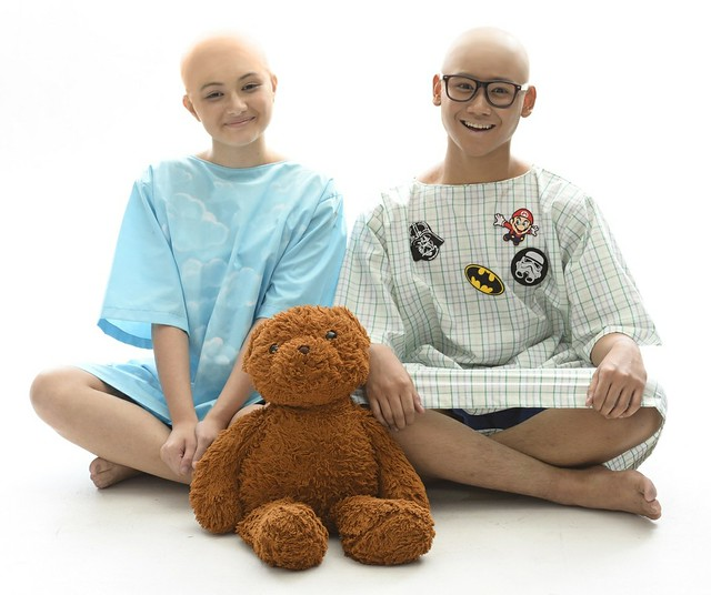 Dani Lyons and Marty, played by Rebecca and Luigi Quesada as Marty are roommates at pediatric oncology