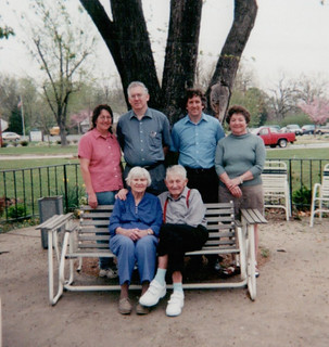 Kenneth and Beulah and family