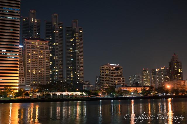 สวนเบญจกิติ Bangkok Night Photography