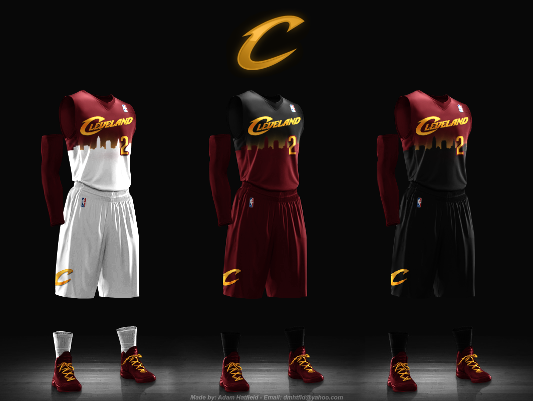cavaliers new jerseys