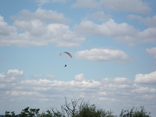 Paraglider by Pitprops on Flickr.Com