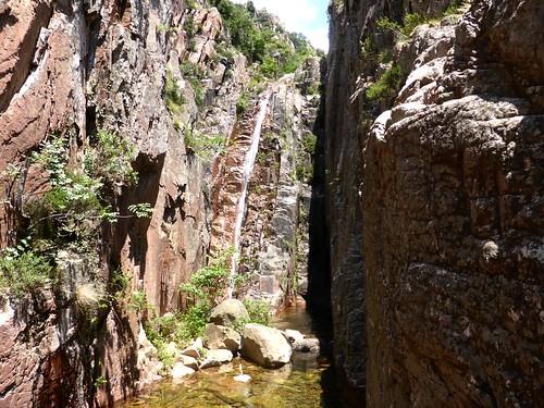 La 3ème cascade (infranchissable) du Niffru