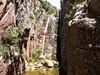 La 3ème cascade (infranchissable) du canyon de Lora