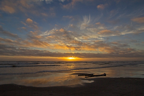 sunset summer sky beach longbeachwashington