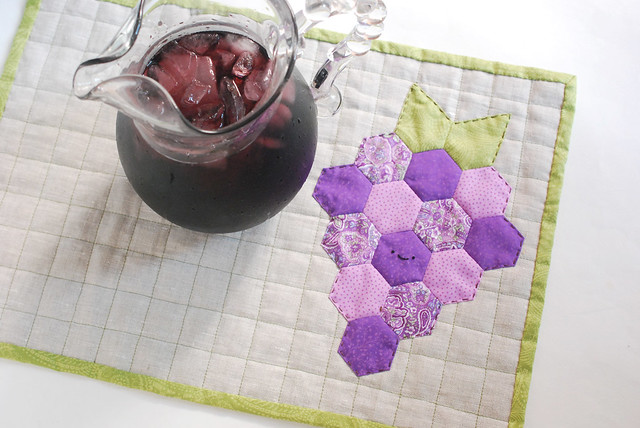 EPP fruity quilted placemats