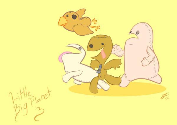 LittleBigPlanet 3 by jowife1993