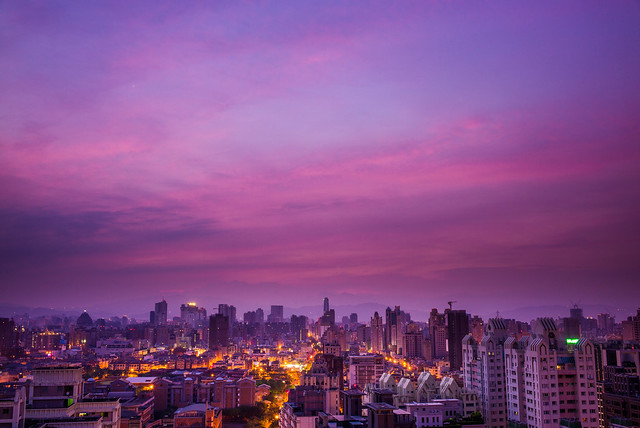 Morning Glow at Taichung City