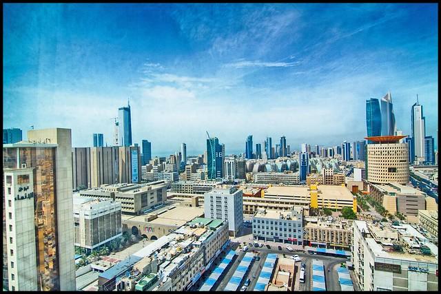 Kuwait City Cityscape