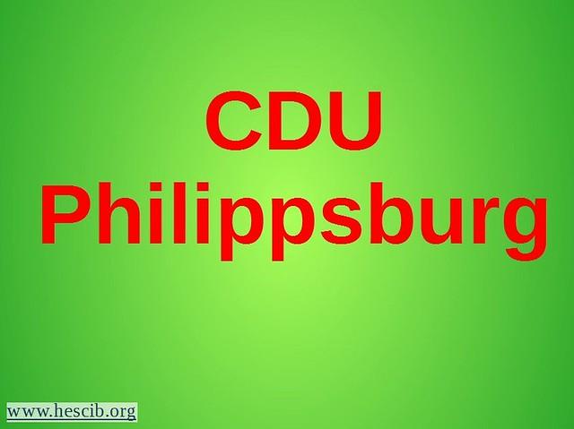 CDU Philippsburg Bild
