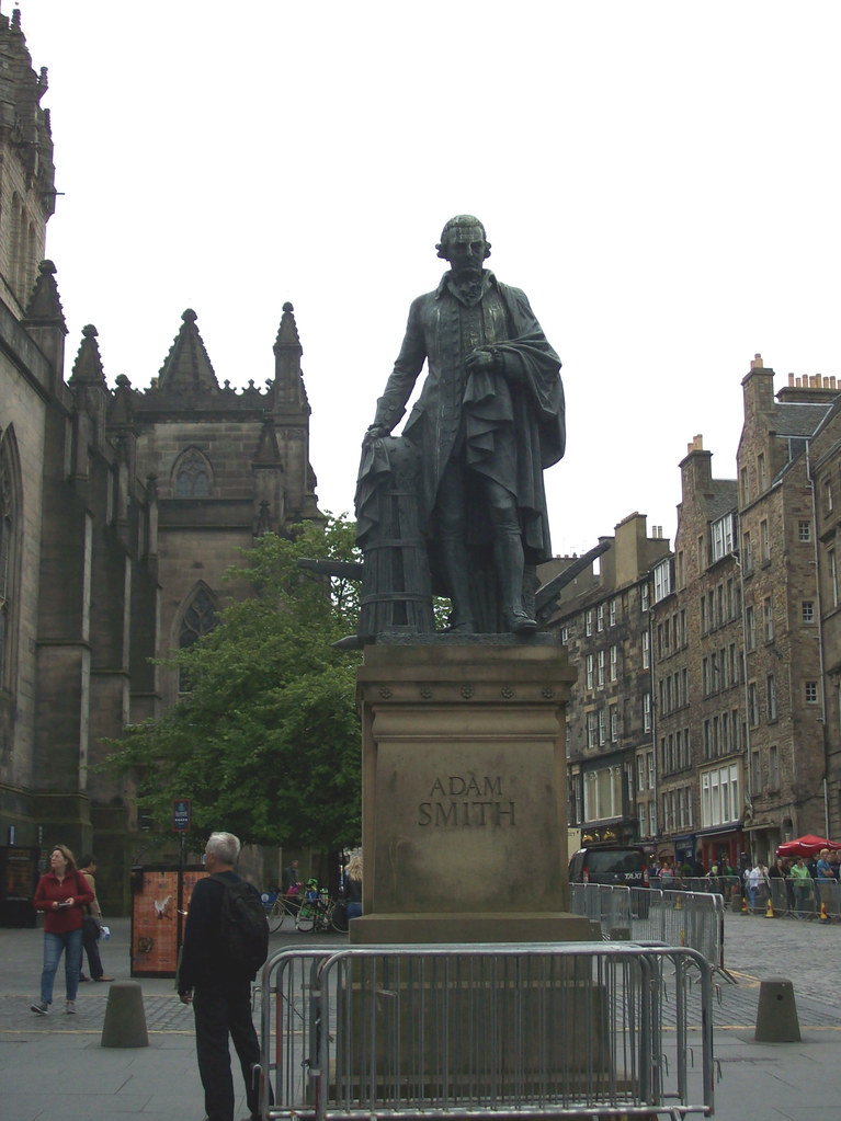 ADAM SMITH POLITICAL ECONOMIST