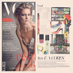 Gaudi featured in Vogue Portugal #unda #gaudi #vogue #design #divider #glass #steel #interior #home #decor #portugal