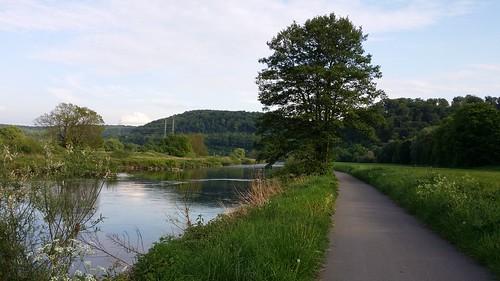Ruhr river near Isenberg