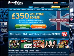 Roxy Palace Casino Home