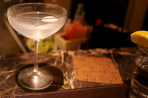 Monkey 47 Gin Martini - Part of Juniper in July at Michael Mina's Bourbon Steak