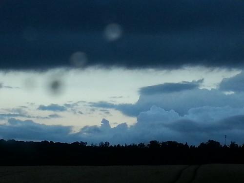 Wolken über Wolferode