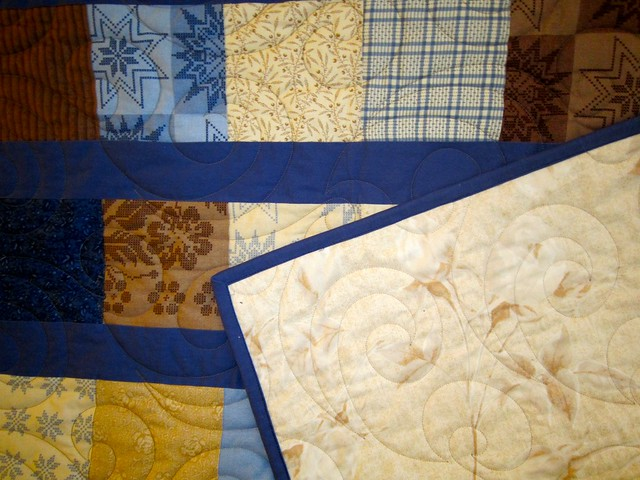 Lounge room quilt #1