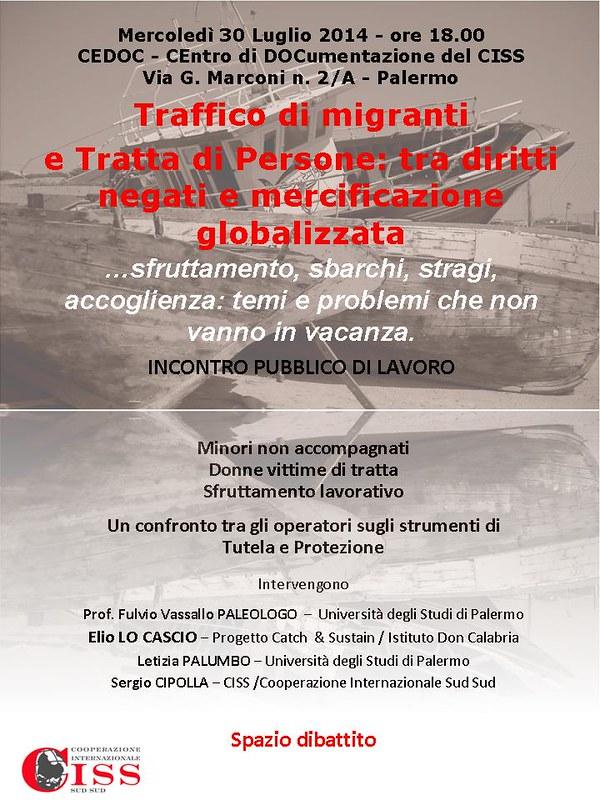 Traffico di migranti e Tratta di Persone:  tra diritti negati e mercificazione globalizzata