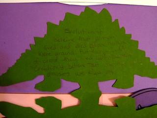 Dinosaur Shape Book