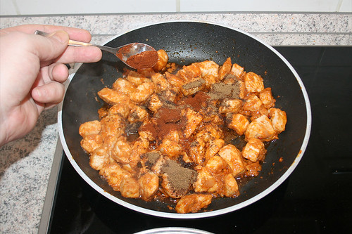 52 - Mit Garam Masala & Cayennepfeffer würzen / Season with garam masala & cayenne pepper