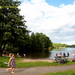 Îlot de fraîcheur à proximité du centre-ville de Stockholm, la plage publique de Lidingö est fréquentée par de nombreuses familles.