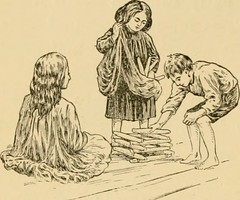 """Image from page 129 of """"Stories of pioneer life, for young readers;"""" (1900)"""