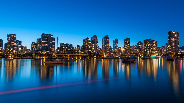 False Creek twilight