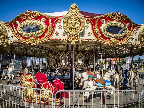 Carousel at Long Beach