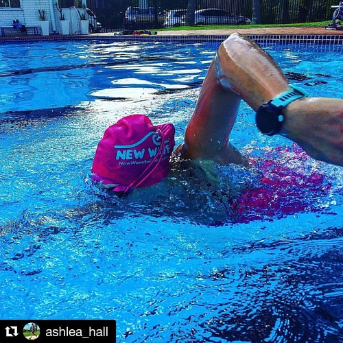 Where in the world is the New Wave Swim Buoy now? Fit life Health Club, Coorumbung Australia  . . #Repost @ashlea_hall with @repostapp ・・・ Be stubborn about your goals 💪 but flexible in your methods 🙌  Recovery week this week and even