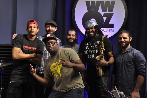 Derrick Freeman with Danny Abel Band. Photo by Leona Strassberg Steiner