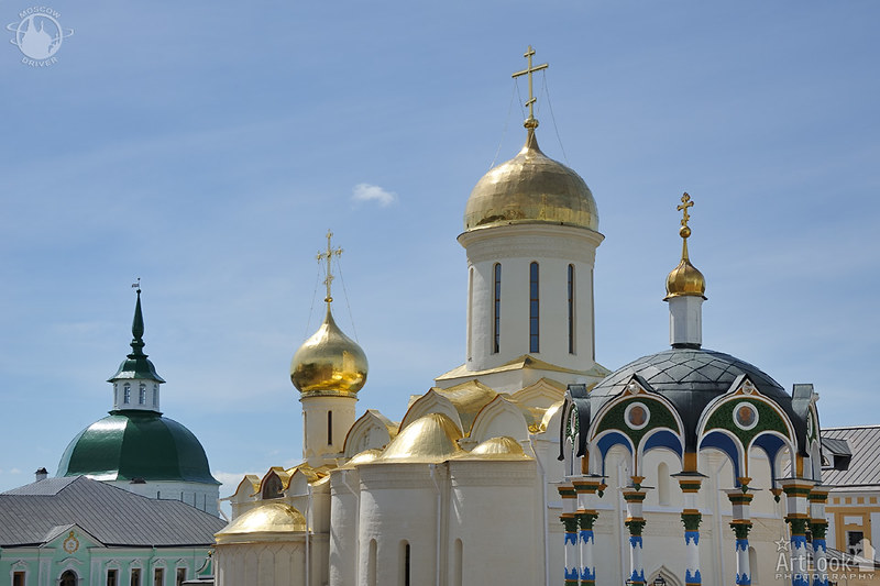 Cupolas and Towers of Lavra