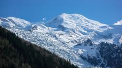 Mont Blanc 4807, z Chamonix.