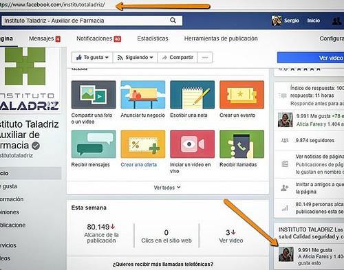 FANPAGE del INSTITUTO TALADRIZ ⠀ http://buff.ly/2phkJ3s⠀ Más de 10 000 ME GUSTA ! Gracias !!!