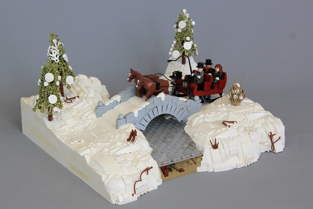 Sleigh Ride (custom built Lego model)