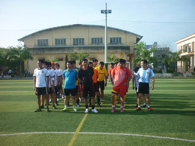 Chung kết giải bóng đá nam 5 người Cụm thi đua số 3