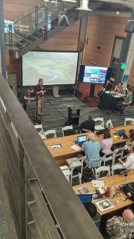 Presentationer på Hackathon på Galvanize i San Francisco