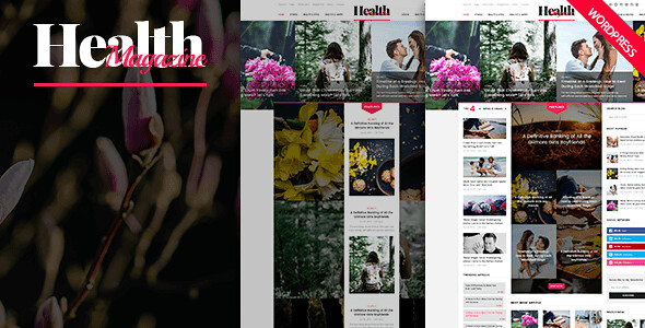 HealthMag WordPress Theme free download