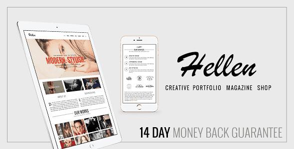 Hellen WordPress Theme free download