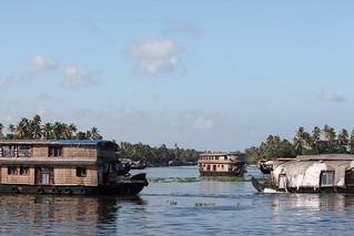 Three Houseboats