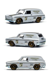 HotWheels - Custom '69 Volkswagen Squareback