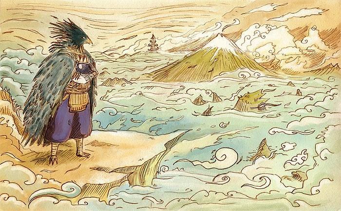Entre o Bem e o Mal, a Lenda do Tengu