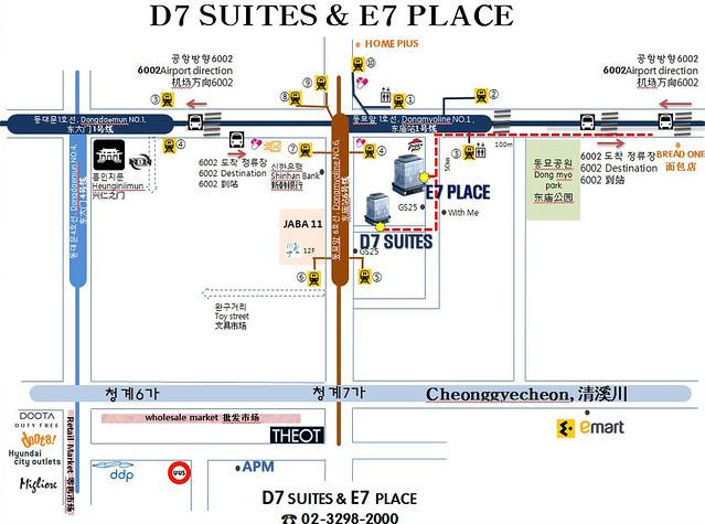 E7 Place路線圖